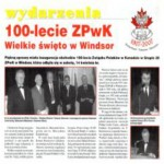 100 Lecie ZPwK Polish Alliance of Canada Branch 20 Windsor