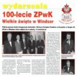 100 Lecie ZPwK Polish Alliance of Canada Branch 20 Windsor