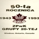 May 01, 1993 Polish Alliance of Canada Branch 20 Windsor