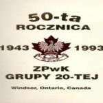 May 01, 1993 Polish Alliance of Canada Branch 20 Windsor