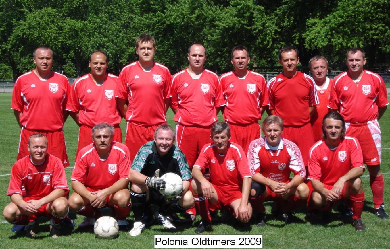 Polonia Oldtimers 2009 Soccer Team