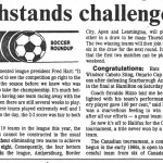 Polonia Seniors 1990 League Champions Windsor Star Article