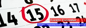 Polonia Windsor Events Calendar Homepage Banner