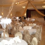 Dom Polski - Banquet Hall decorated for a wedding reception