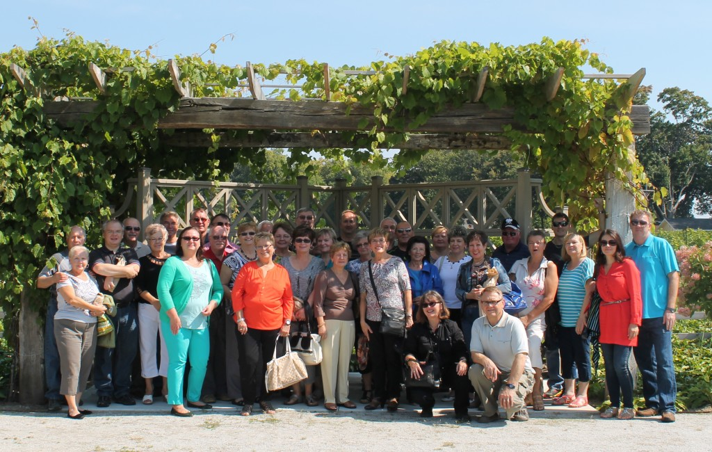 Group at Oxley Winery Tour - September 20, 2014