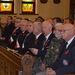 Our Veterans during the Holy Mass at  the  Holy Trinity  Church. Photo - Ewa Jagielska