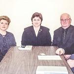 The meeting with Halina Rogacka, the former president of Canadian Polish Congress (CPC).  From the left: Richard Chelstowski , Halina Roznawska, Halina Rogacka (President of Canadian Polish Congress), Zdzislaw Roznawski, Jerzy Barycki.