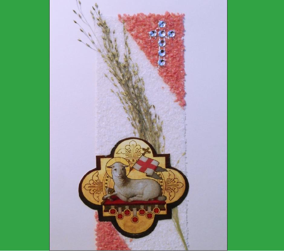 Easter Card - Sr. Anna M. Fidor SJK