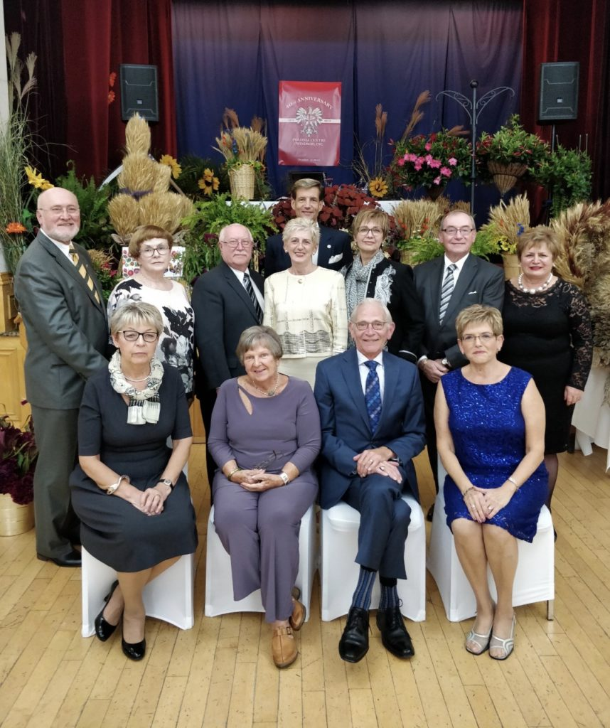 Polonia Centre (Windsor) Inc_2019 Board of Directors_From Left to Right:<br />