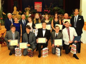 2018 Polonia Centre Academic Awards Recipients